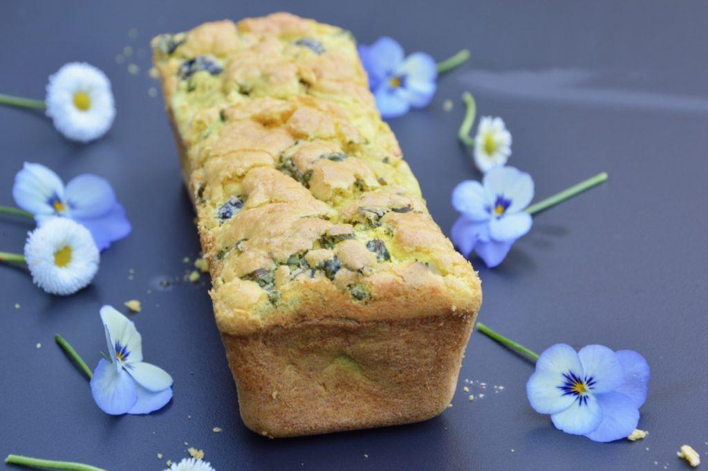 La recette du cake aux olives sans gluten de Lamia