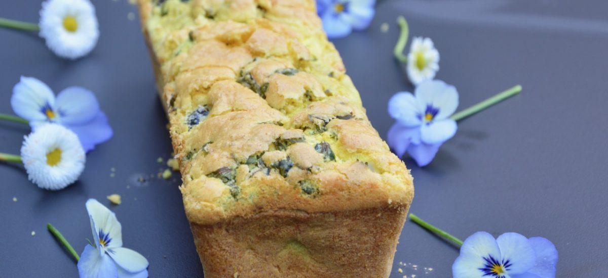 Le cake aux olives sans gluten de Lamia