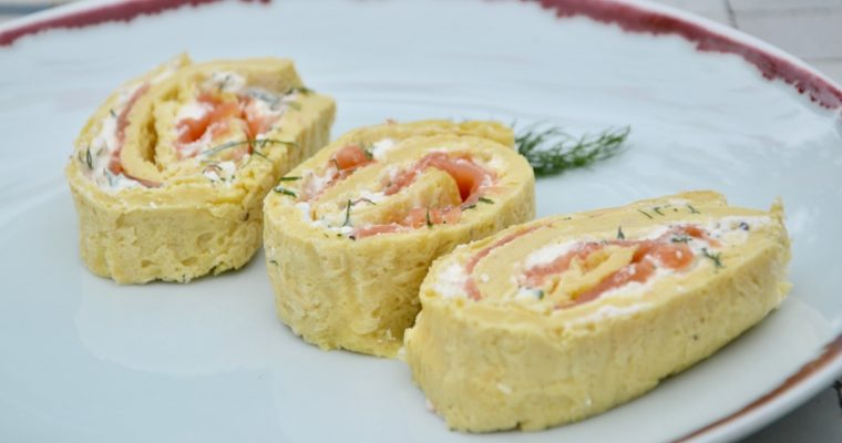 Nicole's Smoked Salmon Roll
