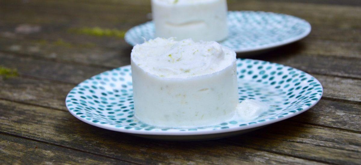 Le soufflé glacé au citron vert de Frédérique
