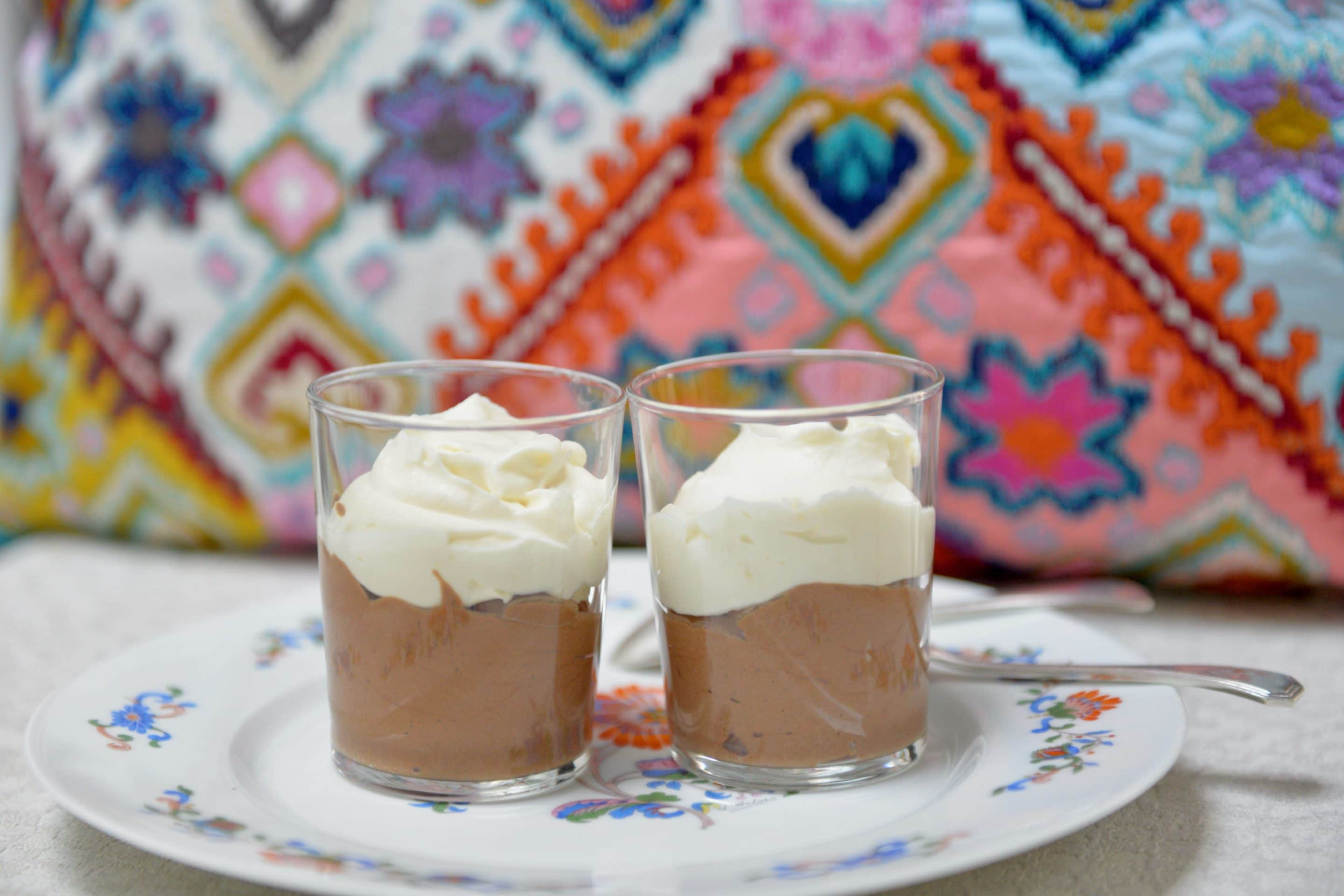 Double chocolate mousse my way