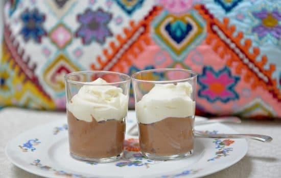 La mousse aux 2 chocolats