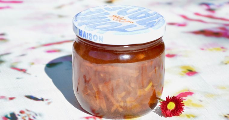 Ma confiture d'agrumes
