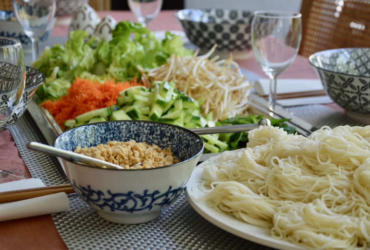 Le menu asiatique