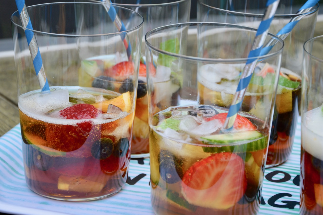 The Pimm's Royale Cocktail