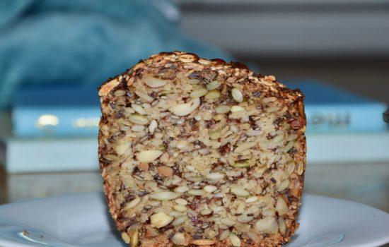 Agnès' gluten-free, flour-free & yeast-free loaf