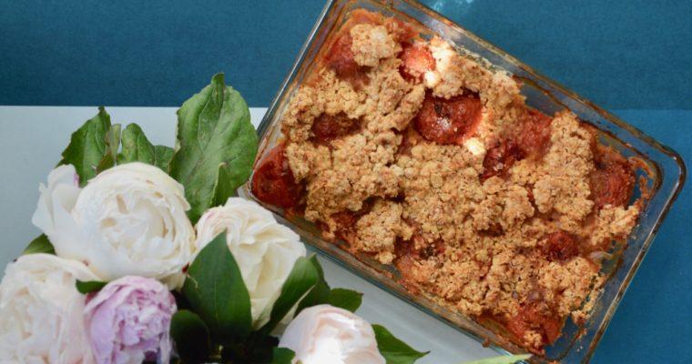 Le crumble de tomates d'Adeline