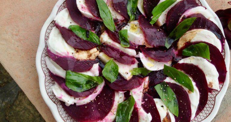Catherine's Mozzarella Beet Salad