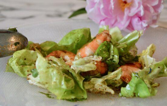 la salade de la mer au curry d'Anne