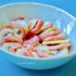la salade tomate-kiwi de Jeanne