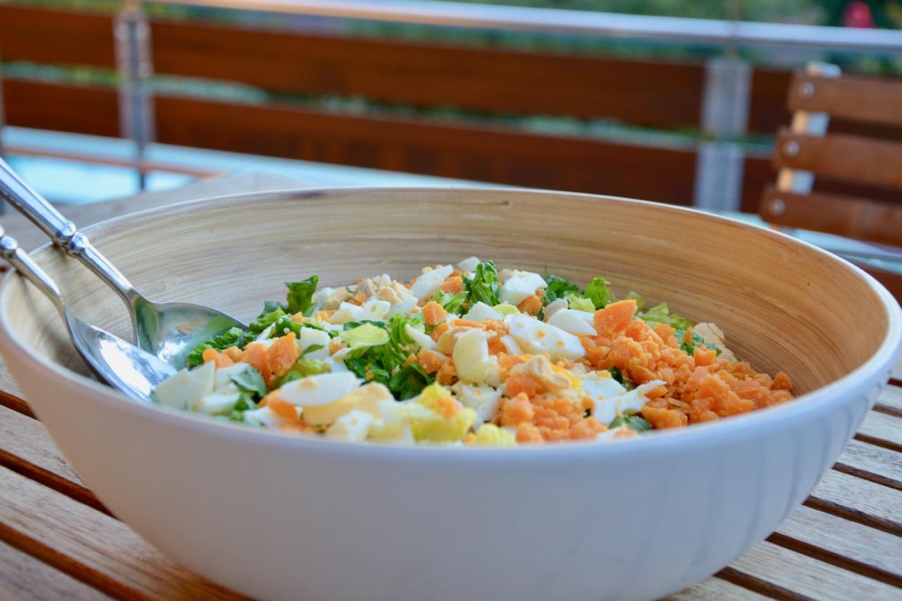 la salade aux petits pois de Bertille