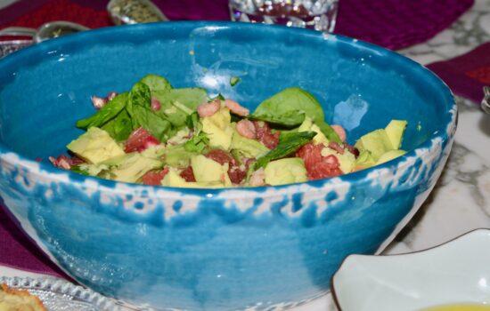 la salade au gingembre de Christine
