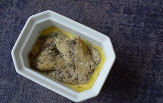 Mon foie gras façon monsieur Ducasse