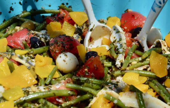 la salade de Laurent style niçoise