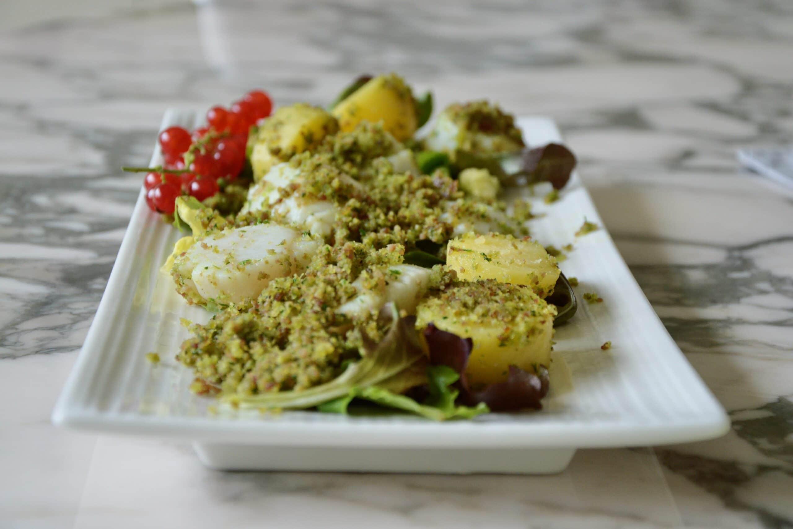 scallops with parma ham