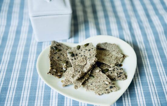 Virginie's seed crackers