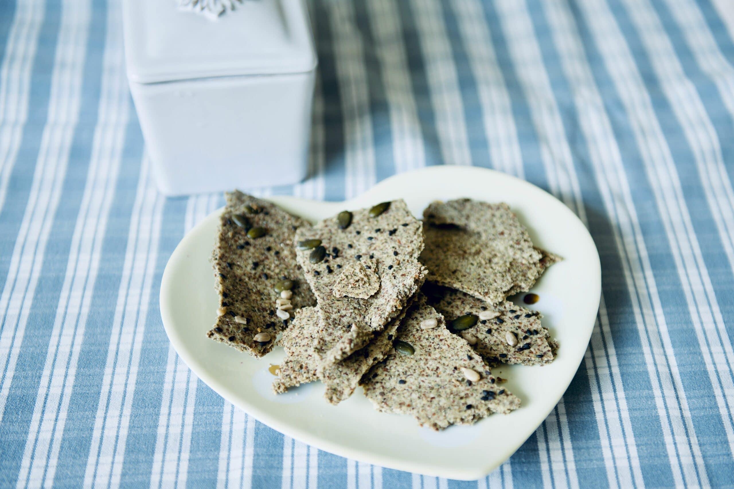Virginie's seed crackers