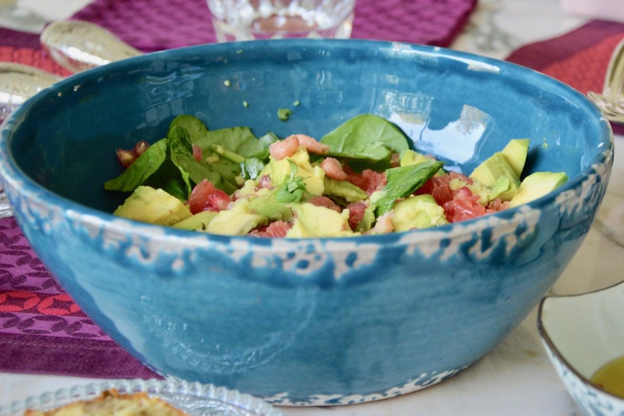 Christine's ginger salad