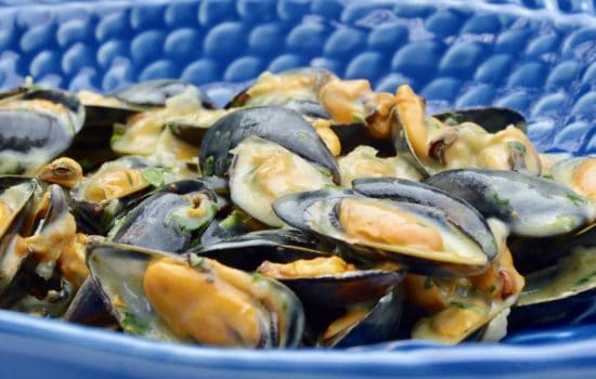 French mussels curry