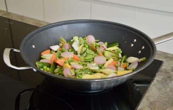 Vegetable tajine