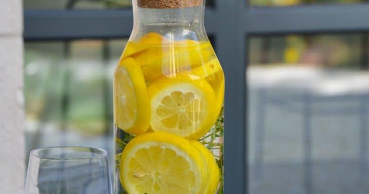 La citronnade au thym citron